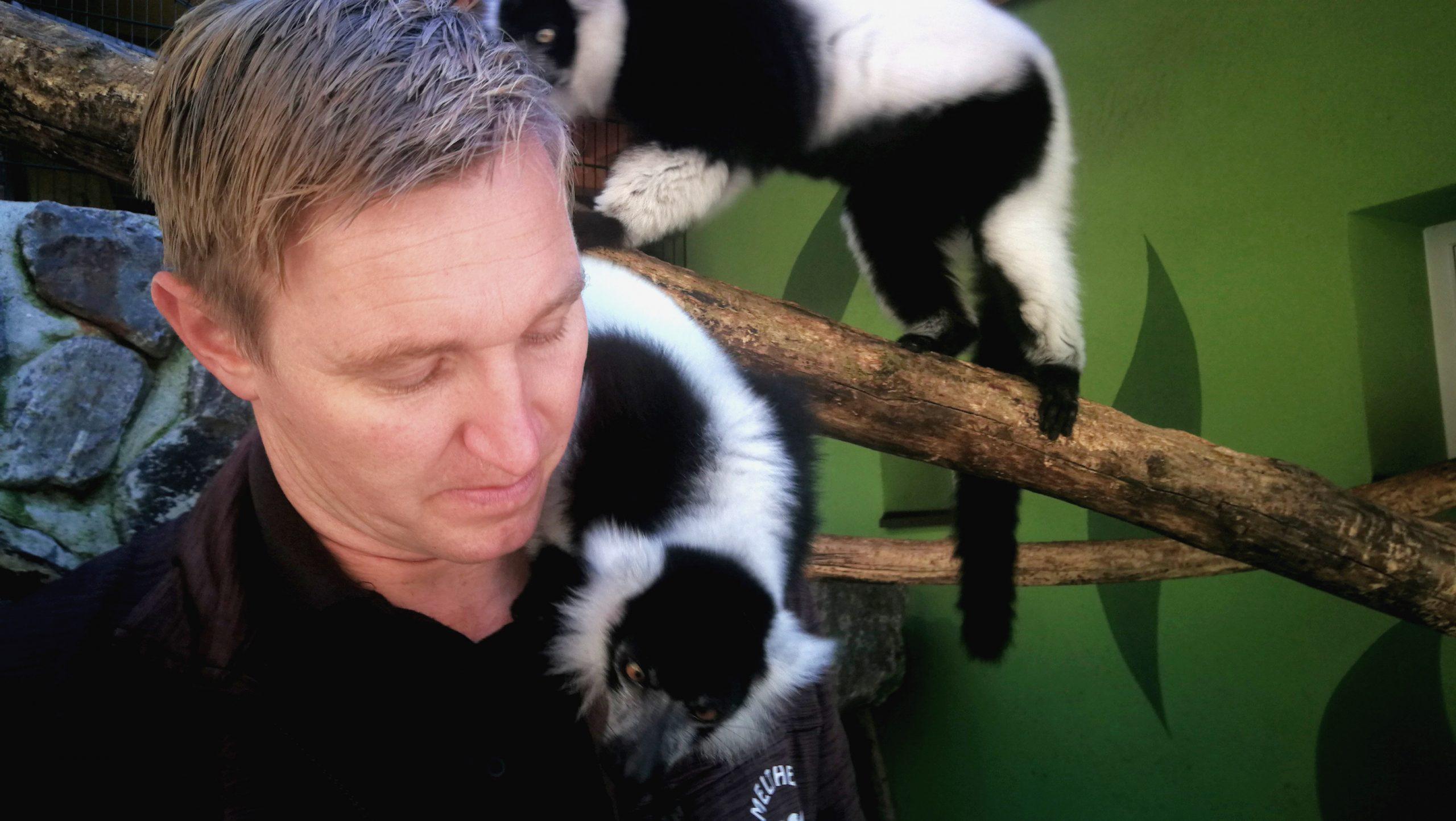 Rainer Zoechling mit Kattas 1